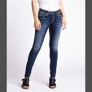 Silver Jeans Suki Slim Jean Size 32